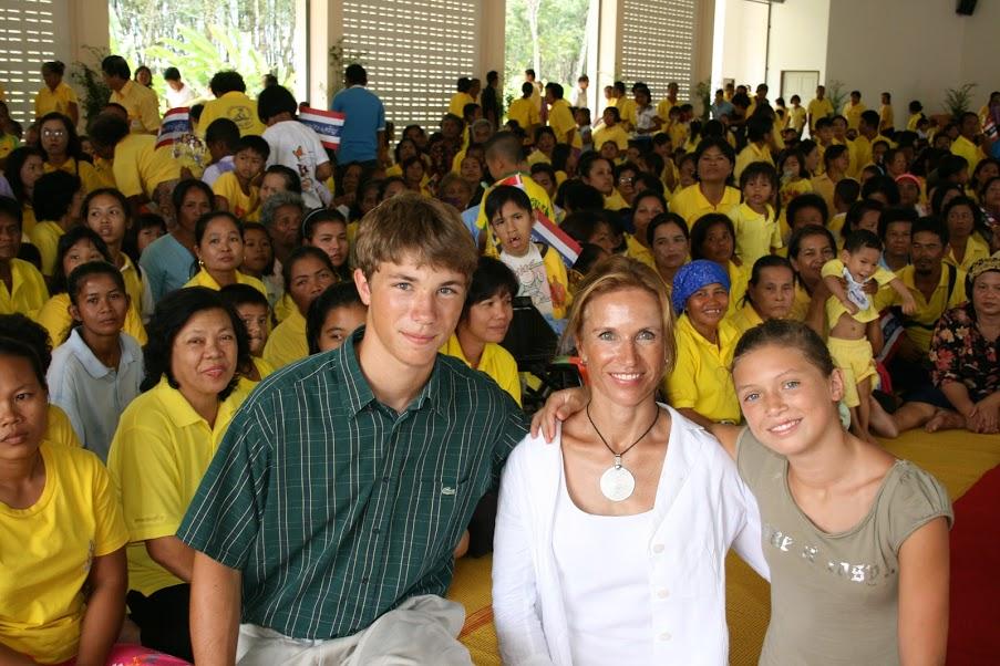Inauguration école Ban Lamkan